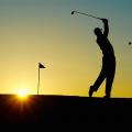 ゴルフと身体の歪み/イメージ画像